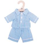 Afbeeldingen van Poppenkleding Pyjama blauw (M) 30cm Bigjigs