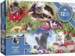 Afbeeldingen van Puzzel Katten 12 stukjes