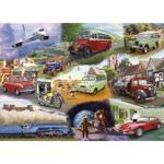 Afbeeldingen van Puzzel Transport Voertuigen 24 stukjes
