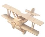Afbeeldingen van 3d puzzel dubbeldekker vliegtuig