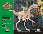 Afbeeldingen van 3d puzzel Ornithomimus Dinosaurus