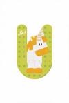 Image de Sevi dierenletter nieuw (U) eenhoorn unicorn