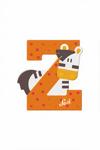 Image de Sevi dierenletter nieuw (Z) zebra