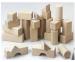 Picture of Startset bouwblokken blank 1+ HABA