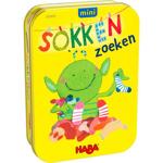 Afbeeldingen van Sokken zoeken Mini  in blik HABA