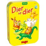 Afbeeldingen van Dier op dier Stapelspel Mini reisvariant 5+ HABA