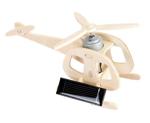 Afbeeldingen van Houten Helicopter 3D met zonnepaneel 6+