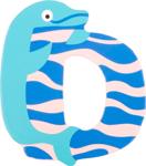Image de Houten dieren letter D