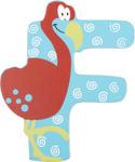 Image de Houten dieren letter F