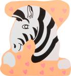 Image de Houten dieren letter Z