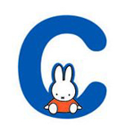 Picture of Nijntje alfabet letter C - 8cm