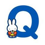 Picture of Nijntje alfabet letter Q - 8cm