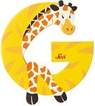 Picture of Sevi dierenletter (G) Giraffe