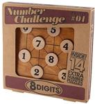 """Picture of Cijferwedstrijd """"8 digits"""" Professor puzzle"""