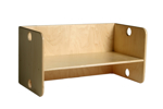 Picture of Kleutergroep Kubusbank - kinderbank hout blank  groepsgebruik  1-8 jaar Van Dijk Toys
