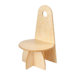 Image de Kleuter stoel Apollo naturel Van Dijk Toys