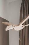 Bild von Vliegfiguur Toekan Blank hout kinderkamer Van Dijk Toys