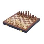 Picture of Houten schaakspel opklapbaar essenhout 38,5x38,5cm