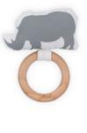 Bild von Bijtring Ø 7 cm safari neushoorn Jollein