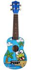 Picture of Ukelele gitaar 4-snaren Print Kikker Calista