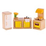 Afbeeldingen van Poppenhuis meubels Keuken Hape