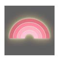Picture of Wandlamp Regenboog roze Led Jollein