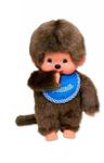 Afbeeldingen van Monchhichi jongen blauwe slab 20 cm
