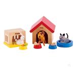 Picture of Poppenhuismeubels Hond, kat en konijn  Hape