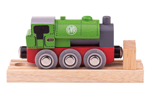 Bild von Houten trein locomotief Saddle Bigjigs