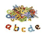 Afbeeldingen van Magnetische letters 58 stuks kleine letters Tidlo