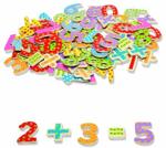 Afbeeldingen van Magnetische cijfers en rekentekens 100 stuks