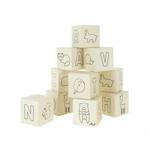 Picture of Holle houten speelblokken 10 stuks Bosvrienden