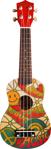 Image de Ukelele gitaar 4-snaren Print Peace Calista
