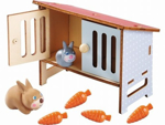 Bild von Little Friends Konijntjes met konijnenhok Haba