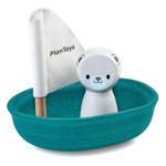 Afbeeldingen van Badspeelgoed Zeilboot ijsbeer Plantoys