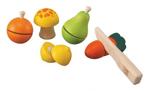 Afbeeldingen van Speelset groente en fruit  Plantoys